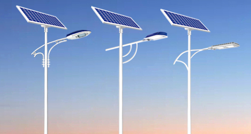outdoor solar street lamps supply