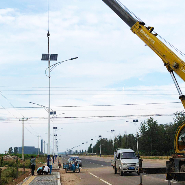 Street Light Pole Production Process (1)